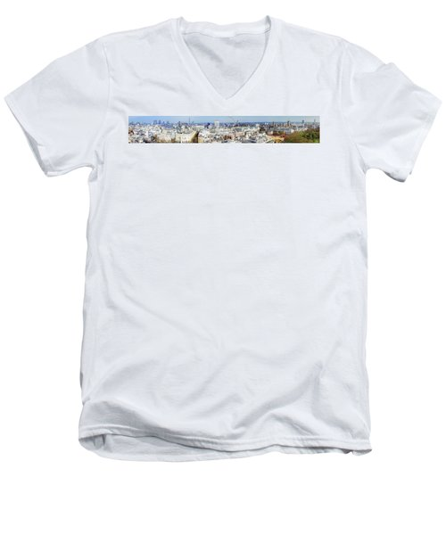 London Men's V-Neck T-Shirt