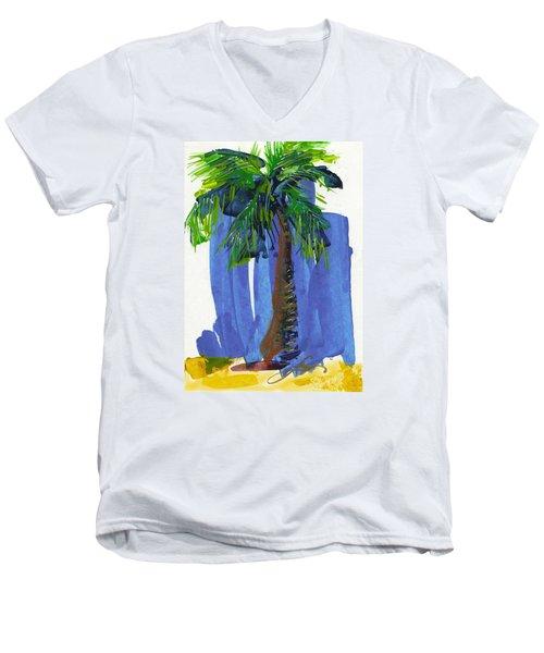 Lone Palm Men's V-Neck T-Shirt