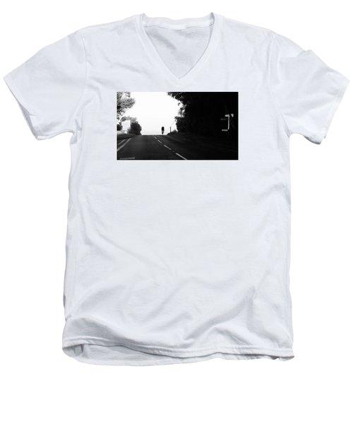 Lone Rider Men's V-Neck T-Shirt