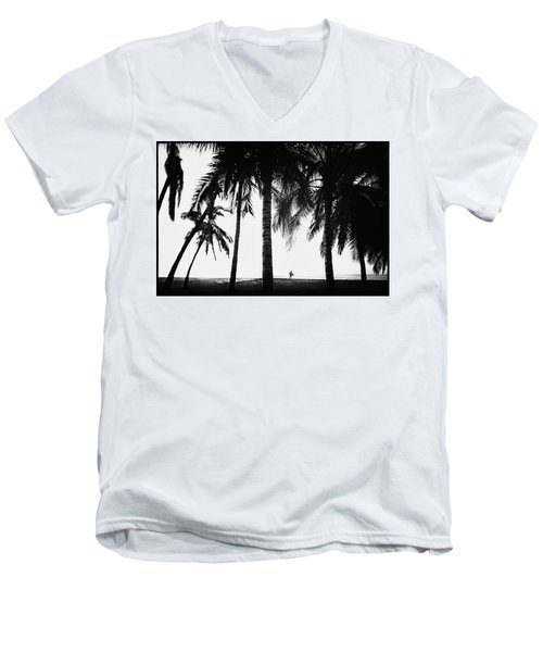 Lone Wolf Men's V-Neck T-Shirt