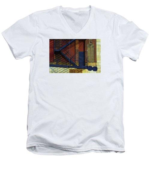 Lonely Days Parking Garage V2 Men's V-Neck T-Shirt