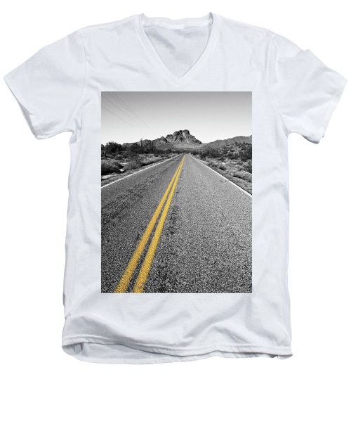 Lonely Road Men's V-Neck T-Shirt