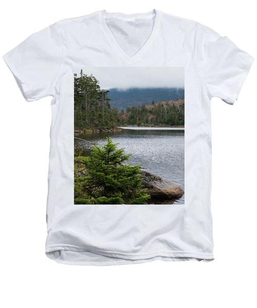 Lonesome Lake Men's V-Neck T-Shirt