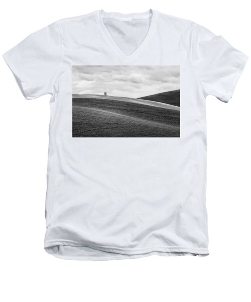 Lonesome Men's V-Neck T-Shirt by Ryan Manuel