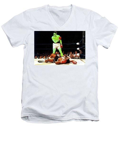 Long Live Ali Men's V-Neck T-Shirt by Chief Hachibi