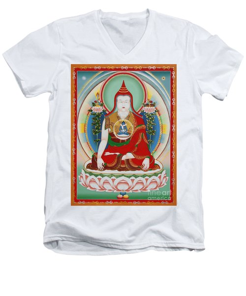 Longchenpa Men's V-Neck T-Shirt