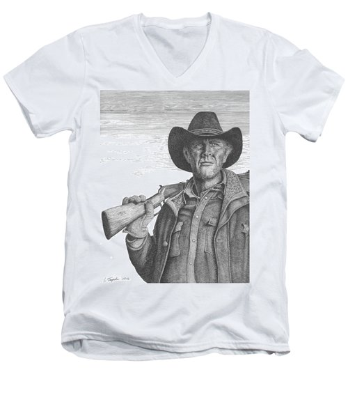 Longmire Men's V-Neck T-Shirt