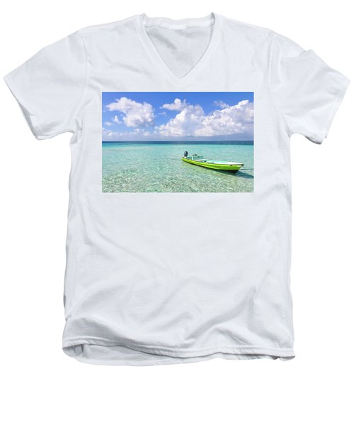 Look At This Beautiful Blue Water Men's V-Neck T-Shirt