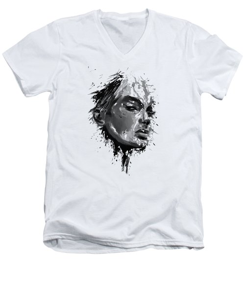 Look Men's V-Neck T-Shirt