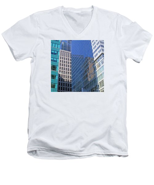 Look Through Any Window Men's V-Neck T-Shirt