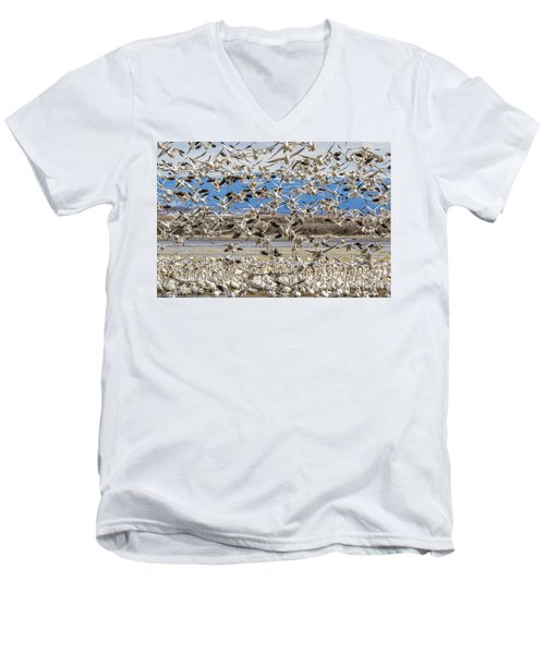Looking For A Place To Land Men's V-Neck T-Shirt