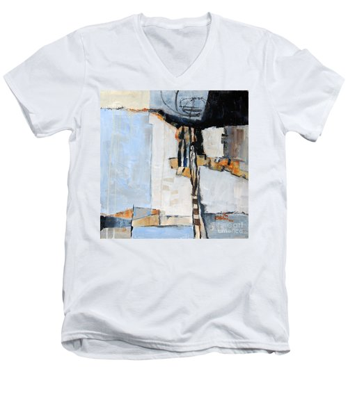 Looking For A Way Out Men's V-Neck T-Shirt by Ron Stephens