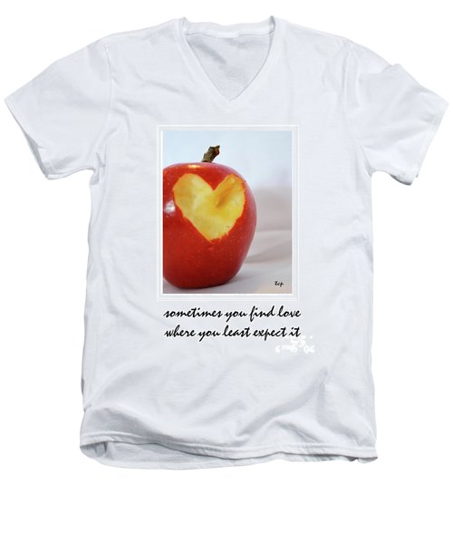 Looking For Love Men's V-Neck T-Shirt