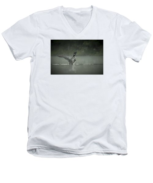 Loon 7 Men's V-Neck T-Shirt