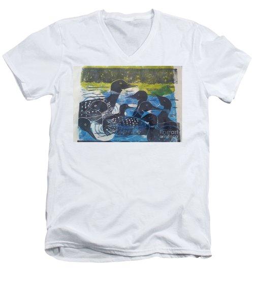 Loon, I See Men's V-Neck T-Shirt