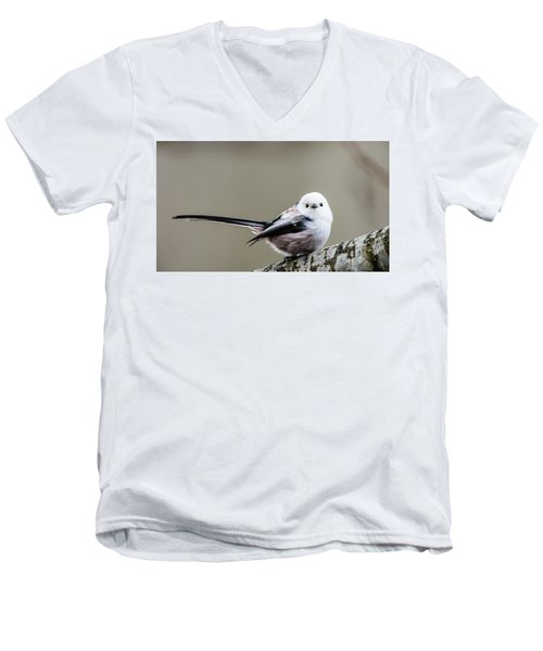 Men's V-Neck T-Shirt featuring the photograph Loong Tailed by Torbjorn Swenelius