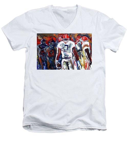 Lorenzo Control Men's V-Neck T-Shirt