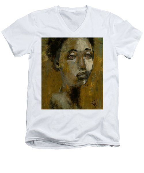 Loretta Men's V-Neck T-Shirt