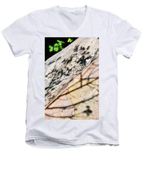 Men's V-Neck T-Shirt featuring the photograph Los Padres Stone by Kyle Hanson