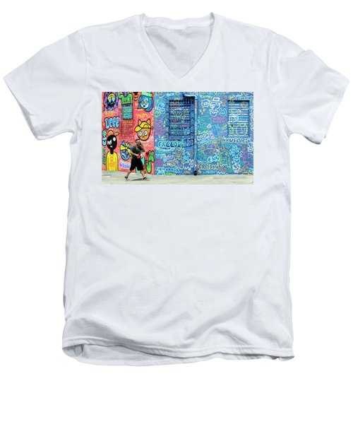 Lost In Translation Men's V-Neck T-Shirt by Keith Armstrong