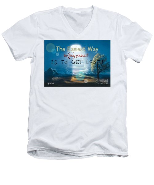 Lost Men's V-Neck T-Shirt