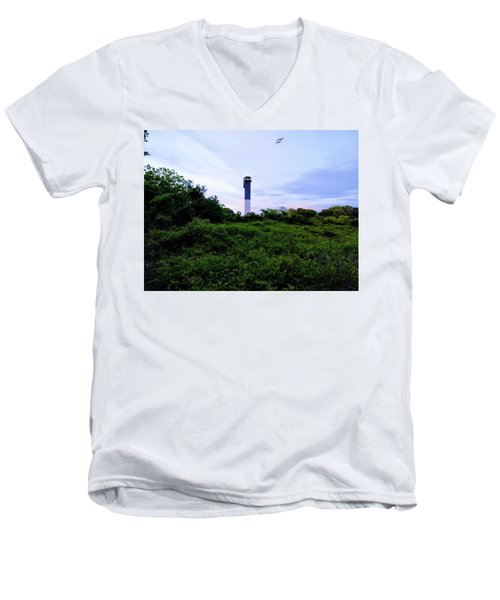 Lost Lighthouse Men's V-Neck T-Shirt