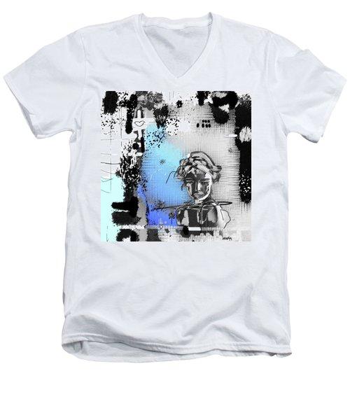 Lost Love Men's V-Neck T-Shirt by Sladjana Lazarevic