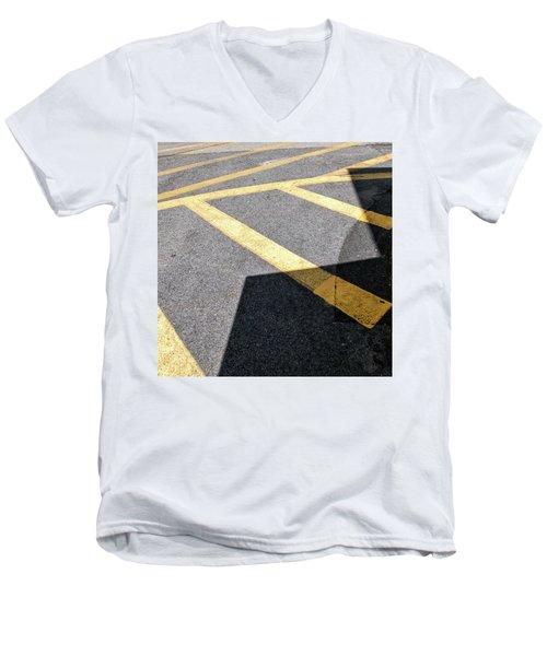 Lot Lines Men's V-Neck T-Shirt