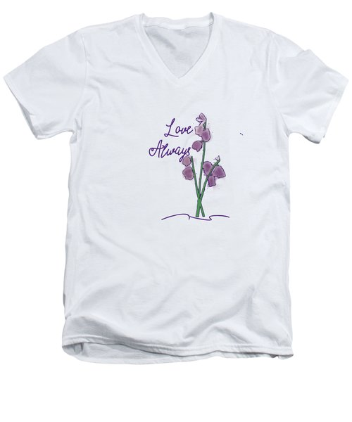 Love Always Men's V-Neck T-Shirt