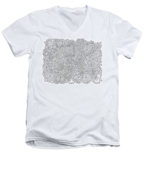 Love Berlin Men's V-Neck T-Shirt