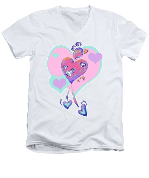 Lovebird Men's V-Neck T-Shirt
