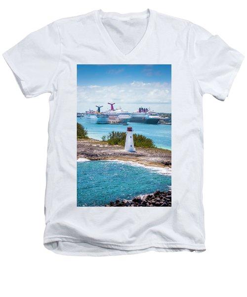 Love Boat Lane Men's V-Neck T-Shirt