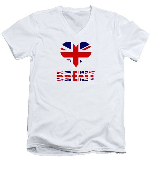 Love Brexit Men's V-Neck T-Shirt