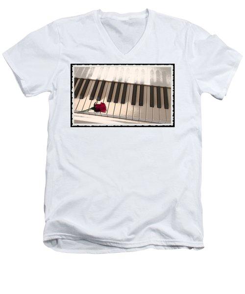 Love Notes Men's V-Neck T-Shirt
