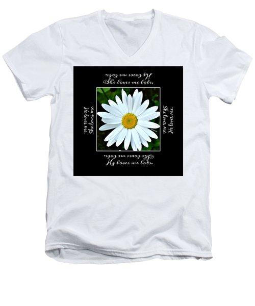 Loves Me Loves Me Lots Men's V-Neck T-Shirt