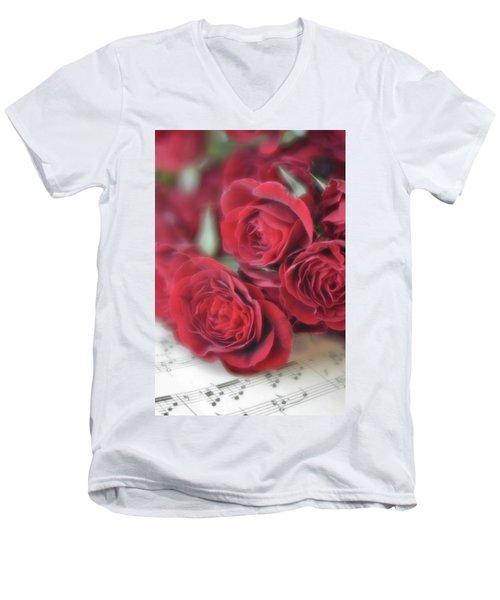 Love's Music Men's V-Neck T-Shirt