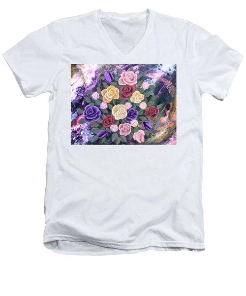 Loving Memory Men's V-Neck T-Shirt