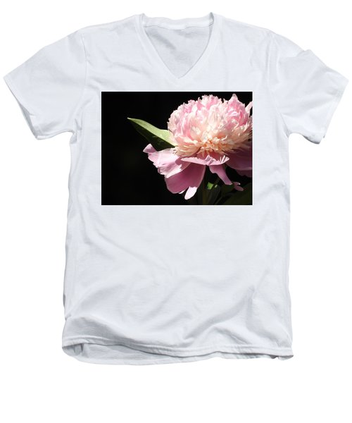 Men's V-Neck T-Shirt featuring the photograph Loving The Sunshine by Betty-Anne McDonald