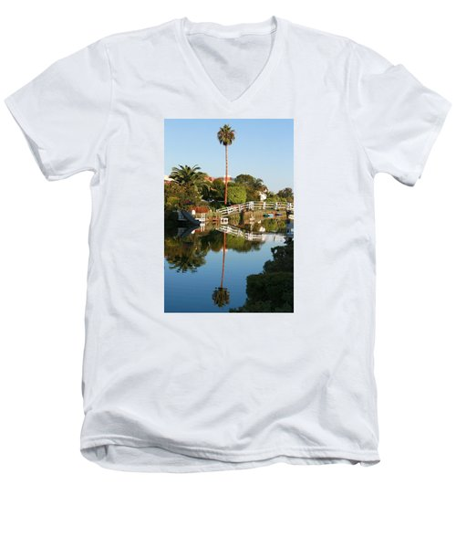 Loving Venice Men's V-Neck T-Shirt