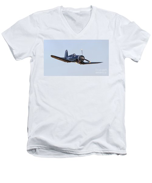 Low Pass Men's V-Neck T-Shirt