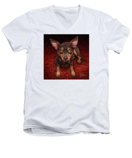 Lucy Men's V-Neck T-Shirt