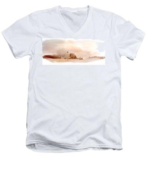Luke's Motivation Men's V-Neck T-Shirt by Kurt Ramschissel