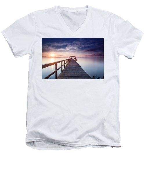 Lumos Maxima Men's V-Neck T-Shirt