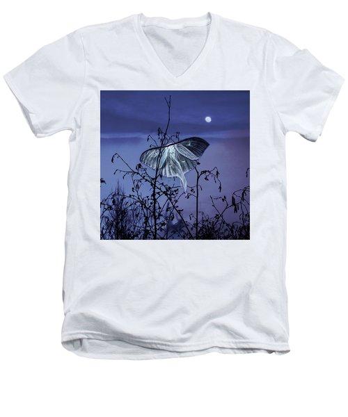 Luna Nights Men's V-Neck T-Shirt