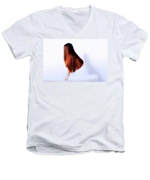Hair Men's V-Neck T-Shirt