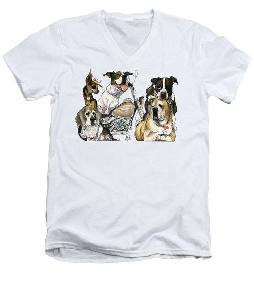 Lynn 7-1469 Men's V-Neck T-Shirt