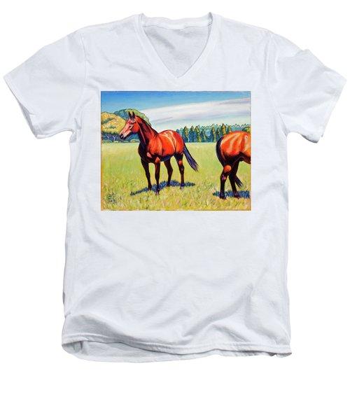 Mac And Friend Men's V-Neck T-Shirt