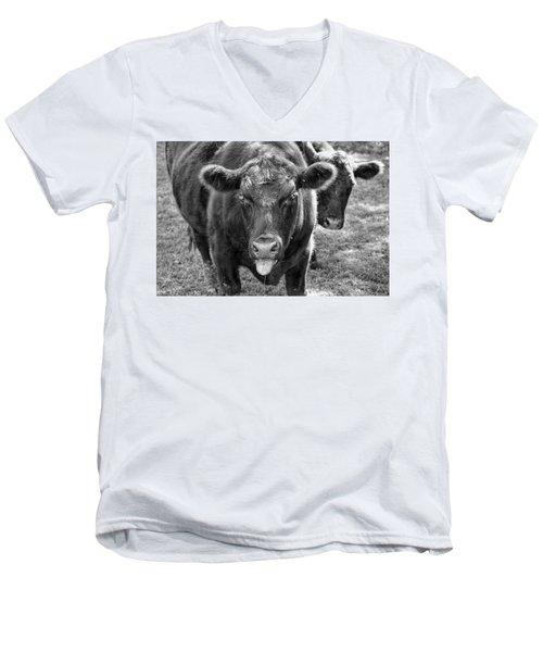 Mad Cow  Men's V-Neck T-Shirt