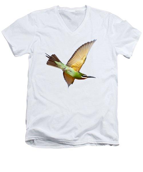 Madagascar Bee-eater T-shirt Men's V-Neck T-Shirt