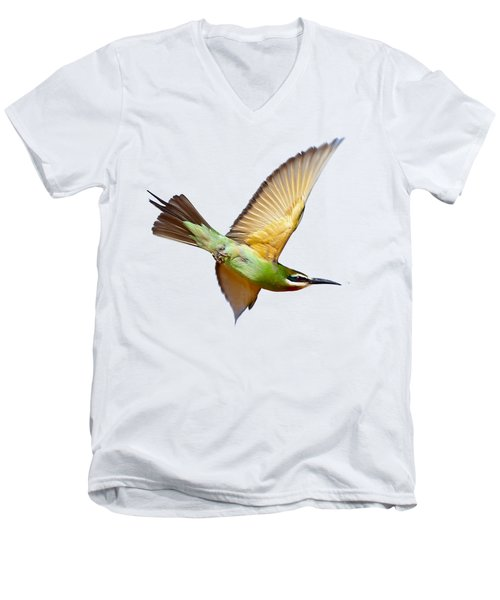 Madagascar Bee-eater T-shirt Men's V-Neck T-Shirt
